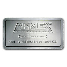 10 oz APMEX Silver Bar - SKU #50644