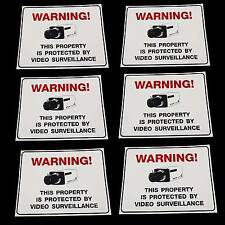 LOT OF HOME STORE SECURITY SPY CAMERA ALARM SYSTEM WARNING FENCE DOOR YARD SIGNS