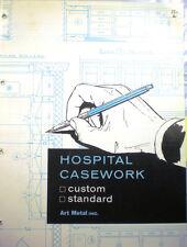 ART METAL Hospital Cabinets Furniture Catalog ASBESTOS Colorlith Countertop 1962