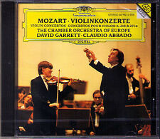 David GARRETT & Claudio ABBADO: MOZART Violinkonzerte 4 7 DG CD Violin Concerto