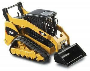 CATERPILLAR CAT 299C COMPACT TRACK LOADER WITH TOOLS 1:32 NORSCOT 55226