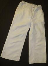 Pantalon en Toile OKAIDI Blanc 4 ans