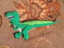 "Toy Story Rex T-Rex Dinosaur Burger King Plush Hand Puppet Disney Pixar 16"" Long"