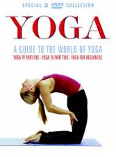 Yoga TV - A Guide To The World Of Yoga (DVD, 2004, 3-Disc Set, Box Set) ** NEW *