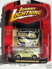 JOHNNY LIGHTNING R34 CLASSIC GOLD 1966 VOLKSWAGEN BEETLE