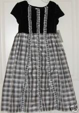 Black White Dress Marmellata Party Holiday Special Pageant 6 Christmas Church