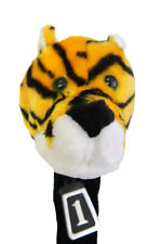 350cc Golf Club Animal Wood HeadCover, Tiger, Fit regular Driver & Fairway Woods