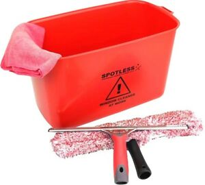 Window Cleaning Starter Kit RED