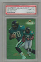 1998 Topps Gold Label Class 1 Fred Taylor Rookie Card! PSA 9 MINT! Jaguars RB!