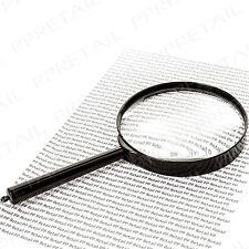 Large Magnifying Glass DETECTIVE PROP Fancy Dress Murder Mystery/Sherlock Holmes