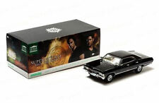 Greenlight Supernatural 1967 Chevrolet Chevy Impala 4 Porte 1:18 Nero 19001
