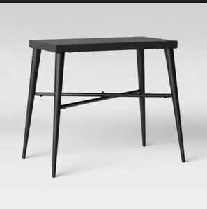 Project 62 Black Metal Kandinsky Accent Table Mid Century Modern
