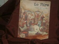 """Le Rire numéro spécial """"Paris qui mange"""" N°647 27 juin 1931dessins A VAllée"""