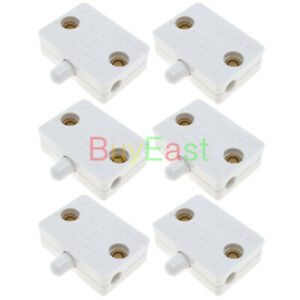 (6 Sets) Cabinet Wardrobe Door Touch Lamp Switch DC12V 24V, AC100~250V 1A WT