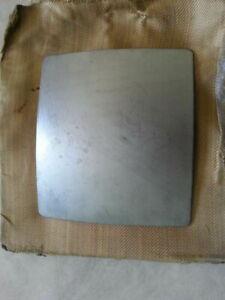 6x Titanium bulletproof plates for body armor, 1.5 mm