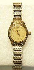 Vintage Bulova Wrist Watch Gold Fill Windup Funtional #6650