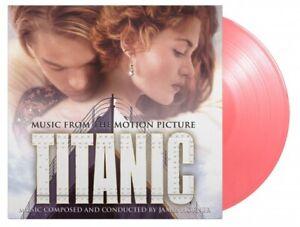 Titanic - Soundtrack - Numbered Double Transparent Pink 180 Gram Vinyl LP