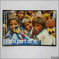 Avant Card #6766 Sponsor a child with Plan Be a part of it 2002 Postcard (P630)