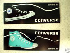 Aufkleber - 2 Stück - verschiedene Farben von CONVERSE – Turnschuhe / Chuks