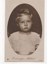 Erzherzogin Adelheid Vintage RP Postcard Royalty Austria 329a