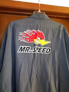 MR. Speed Hotrod Mechanic~Shop Shirt Used/Recycled Size 4X-Large Rat Rod
