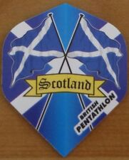 "10 Sets (10X3) ""Scotland"" British Pentathlon Dart Flights"