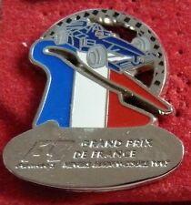 PIN'S F1 FORMULA ONE GRAND PRIX DE FRANCE 1997 ZAMAC ARGENT FIA LICENSE