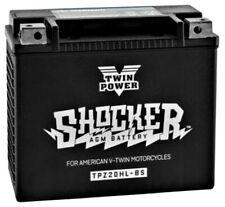SHOCKER V-TWIN AGM BATTERY HARLEY SOFTAIL DYNA BIG DOG SPORTSTER 91-19