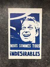 SALE! Original Affiche Mai 1968 By Tchou. Paris Student Riots