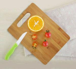 Medium Size Chopping Board Wooden Kitchen Bread Cutting Board Vegetable Cutting