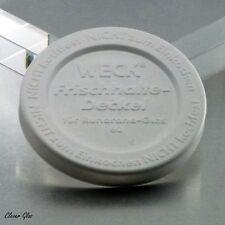5 WECK ® Frischhaltedeckel für  Weck Einmachgläser RR 60mm - Kostenloser Versand
