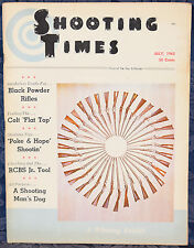 Vintage Magazine SHOOTING TIMES, July 1962 !!! REMINGTON Model 700 RIFLES !!!
