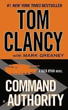 Command Authority (A Jack Ryan Novel) Clancy, Tom, Greaney, Mark Mass Market Pa