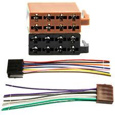 DIN ISO autoradio adattatore cavo connettore 16 pin norma altoparlanti elettricità
