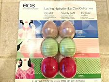 EOS Lip Balm Sphere Lot 6 Lasting Hydration Lip Care Collection Cucumber Melon