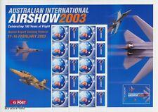 AUSTRALIEN - 2003 AUSTRALIA AIRSHOW FLIGHT FLUGZEUGE BOGEN **