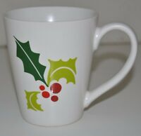 Great Rare 2011 Starbucks 12 oz Coffee Tea Mug Cup Christmas Mistletoe Holiday