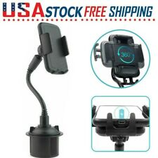 Universal New Car Cup Mount Gooseneck Phone Holder Cradle for iPhone 11 Samsung