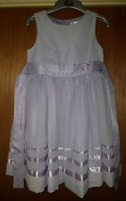 Stunning M&Co Lilac Bridesmaids / Party Dress 8-9 Years ☆ Purple Monsoon