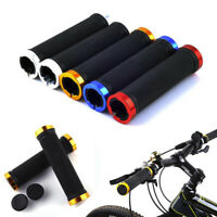 1 Pair Mountain Cycling Bike Bicycle MTB Handlebar Rubber Anti-slip Handle Grips