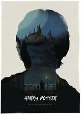 Harry Potter filósofos brujos Piedra cartel Simon Fairhurst #/75 NT Mondo