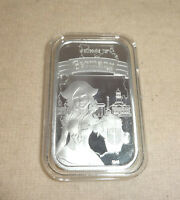 WELCOME TO GERMANY 1oz .999 Silver Proof Art Bar CMG Mint