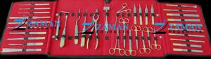 Rhinoplasty Instruments Set of 38 Pieces Nose Surgery Reusable German Steel ZP