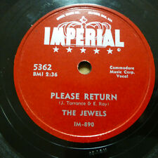 JEWELS Doo-wop 78 PLEASE RETURN / NATURAL NATURAL DITTY on Vg++ Imperial TB2139