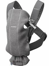 BABYBJÖRN Baby Carrier Mini, 3D Jersey, Dark Grey