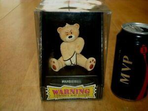 "BAD TASTE BEARS - ""RUSSELL"", RESIN TEDDY BEAR FIGURINE, COLLECTOR'S TOY, [ NIB ]"