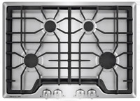 """Frigidaire Gallery FGGC3045QSB 30"""" 4-Burner Stainless Steel Gas Cooktop New"""