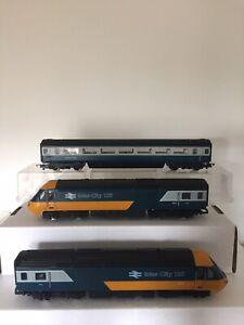 Hornby Intercity HST 125 3 Car Set BR Blue/ Grey Livery - 00 Gauge (#113)