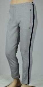 Polo Ralph Lauren Performance Grey Navy Track Pants NWT