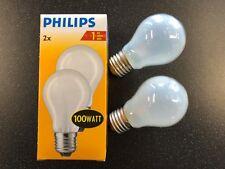 100watt ES Pearl GLS lamp (twin pack)